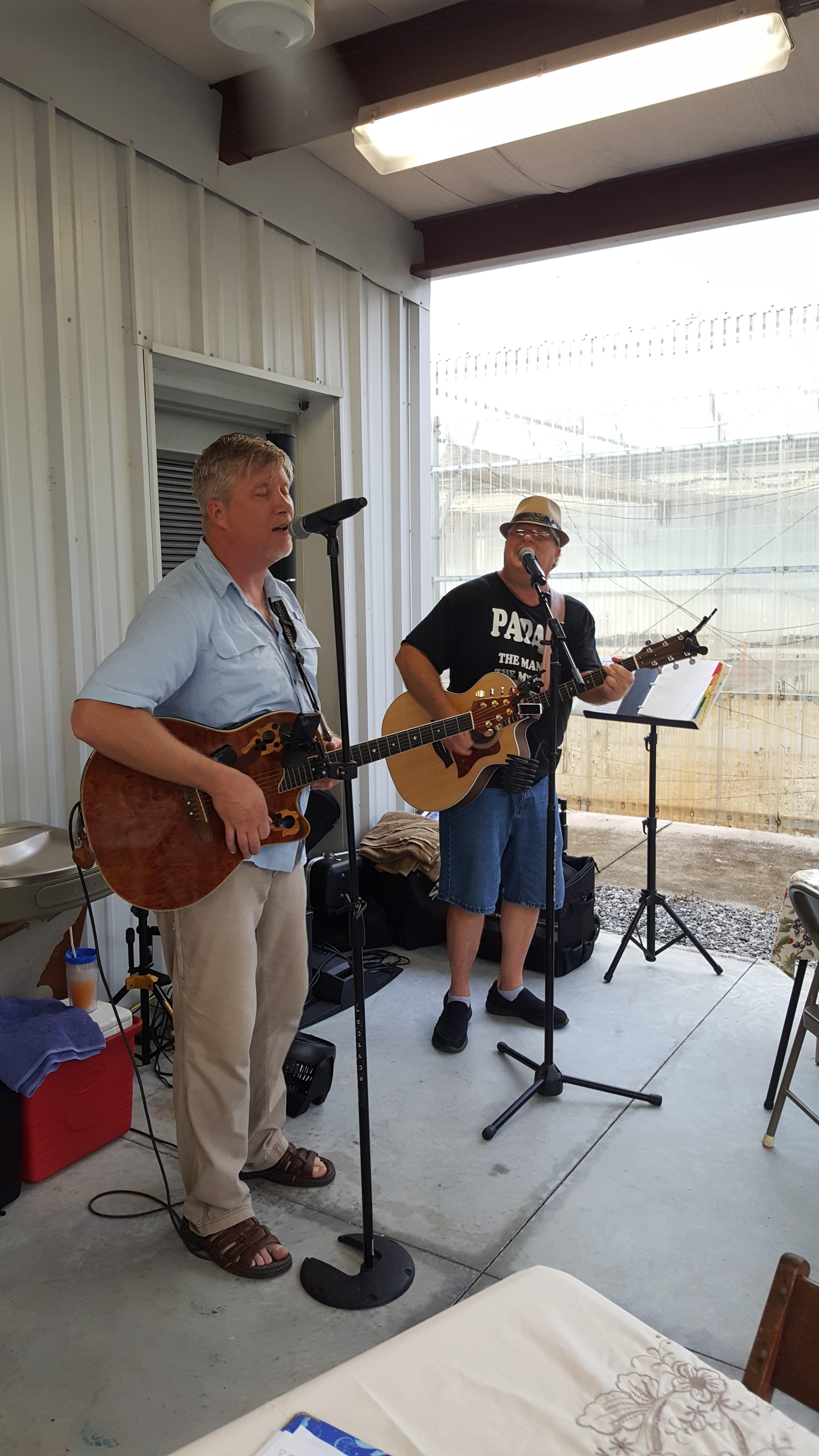2016 06 26 Steve and Al music