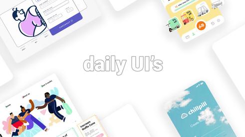 daily Ui's