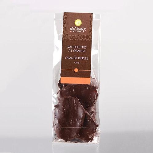 Orange Ripples (bag) -- Adorable Chocolat