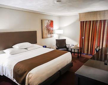 Chambres supérieures classe affaire au Atlantic Host Hotel