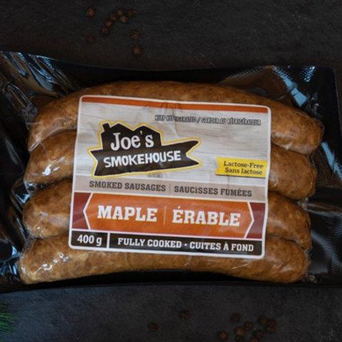 Maple Sausages | Joe's Smokehouse