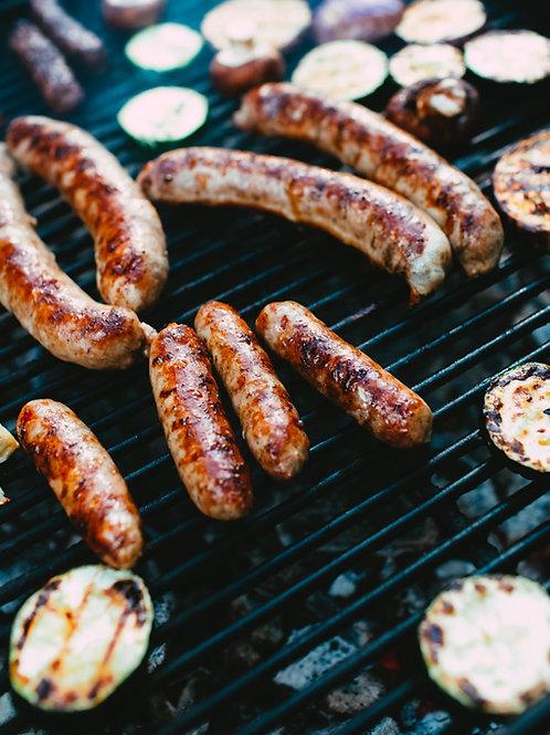 Turkey Broccoli Breakfast Sausage (GF) | Degenhardt's European Sausage Farm