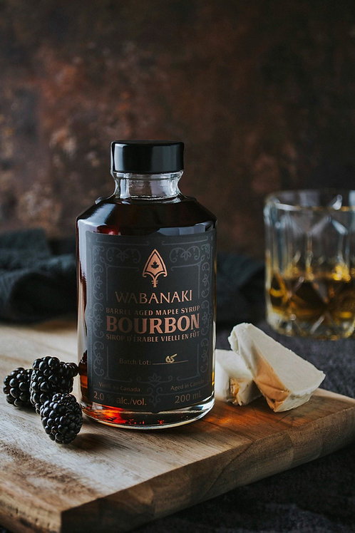 Wabanaki Barrel Aged Bourbon Maple Syrup