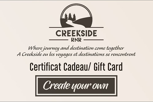 Create your own - Gift Card