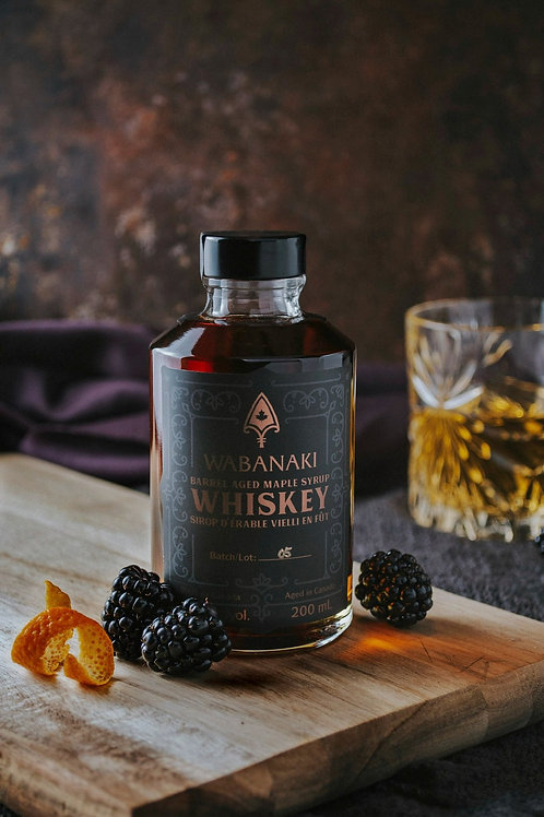 Wabanaki Barrel Aged Whiskey Maple Syrup