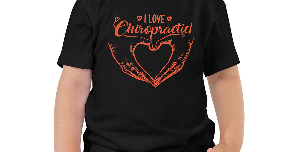 Love Chiropractic Toddler Short Sleeve Tee