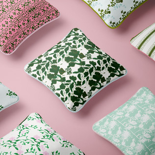 © Cara Deming Butler. Surface Pattern Design: Throw Pillows.