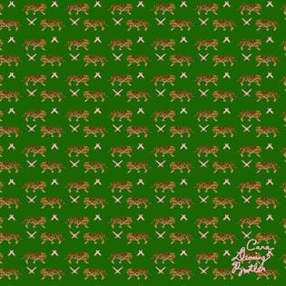 © Cara Deming Butler. Surface Pattern Design: Le Tigre.