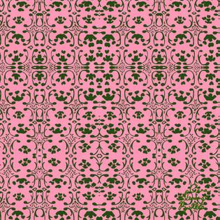 © Cara Deming Butler. Surface Pattern Design: Pink Jacquard.