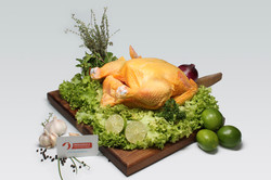 Pollo Criollo Entero