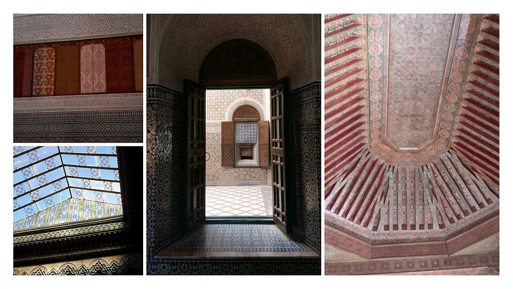 Interior of Kasbah Telouet