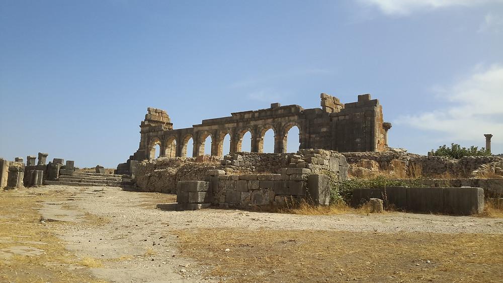 Ancient Berber & Roman Ruins, Volubilis, Morocco