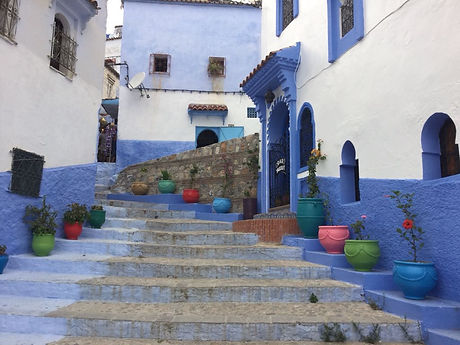 Chefchaouen ' Simply Blue' Morocco