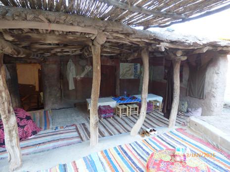 Berber home Imlil village, Morocco