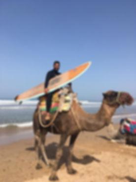 Surfing Essaouira, Morocco