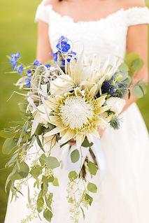 Bride & her bouquet.jpg