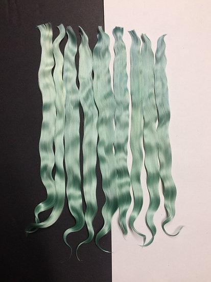 "Colorful Locks ~ Seafoam Green ~ 1/4 oz. ~ 9-10"""