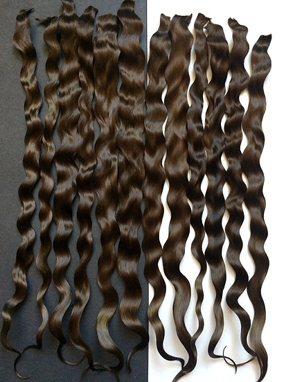 Exquisite Premium  ~ Medium Brown ~ 0.30 oz. ~ 10""