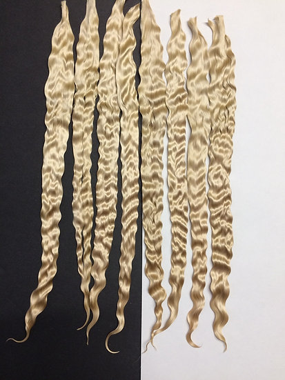 """Yearling Mohair ~ Light Blonde ~ 1/4 oz. ~ 10-11"""""""