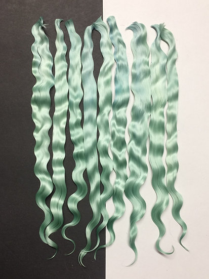 "Colorful Locks ~ Seafoam Green ~ 1/4 oz. ~ 9"""