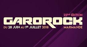 Logo Garorock festival