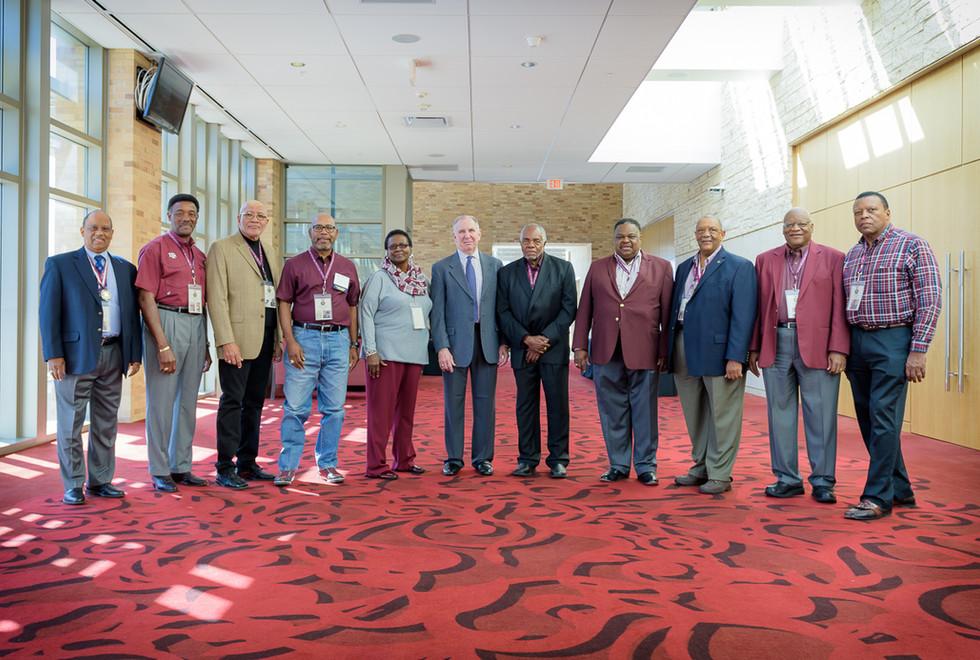 TAMU Pioneers w/President Michael K. Young