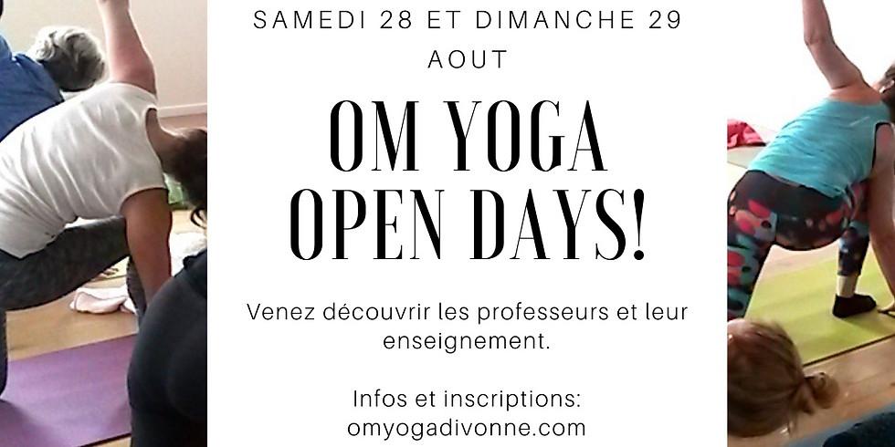 Portes ouvertes Om Yoga
