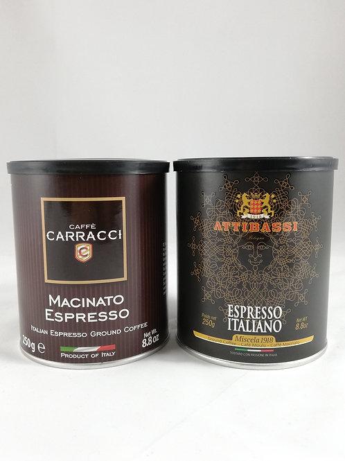 Café Attibassi & Carracci pour Moka (moulu 2x250g)
