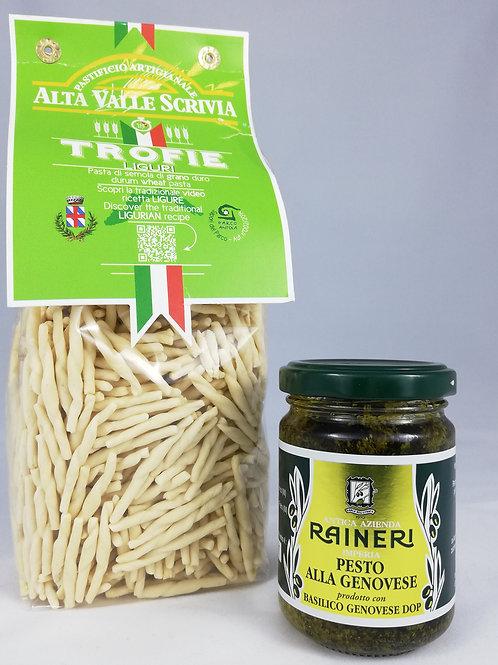 Plat : Trofie al Pesto Genovese DOP