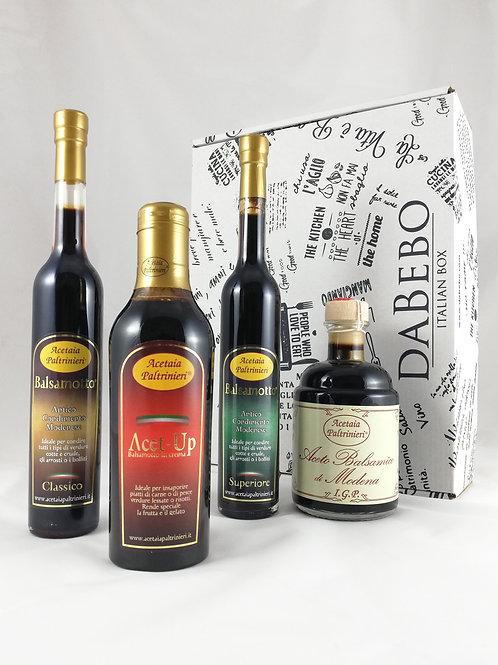 BOX CADEAU PRESTIGE initiation vinaigre balsamique