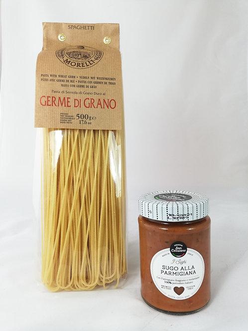 Spaghetti à la Parmesan - 4 pers