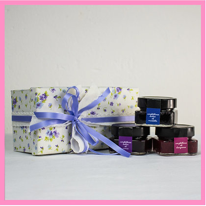 """Romantica"" Line Fabric Box - 3 pcs"