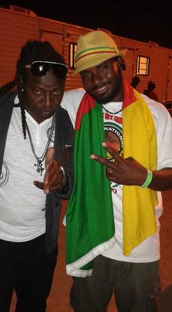 With Jamaica`s No.1