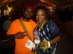 With Dee Alexander