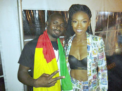 With Brandy