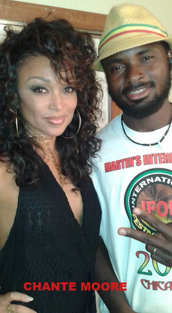 With Chante Moore