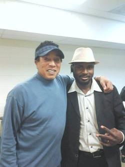 with Smokey Robinson