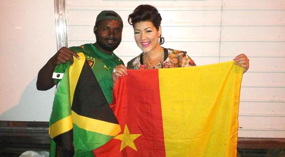 With Tessanne Chin
