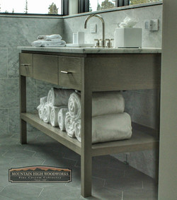 Custom Contemporary Vanity