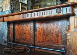 Custom Cabinets Bar