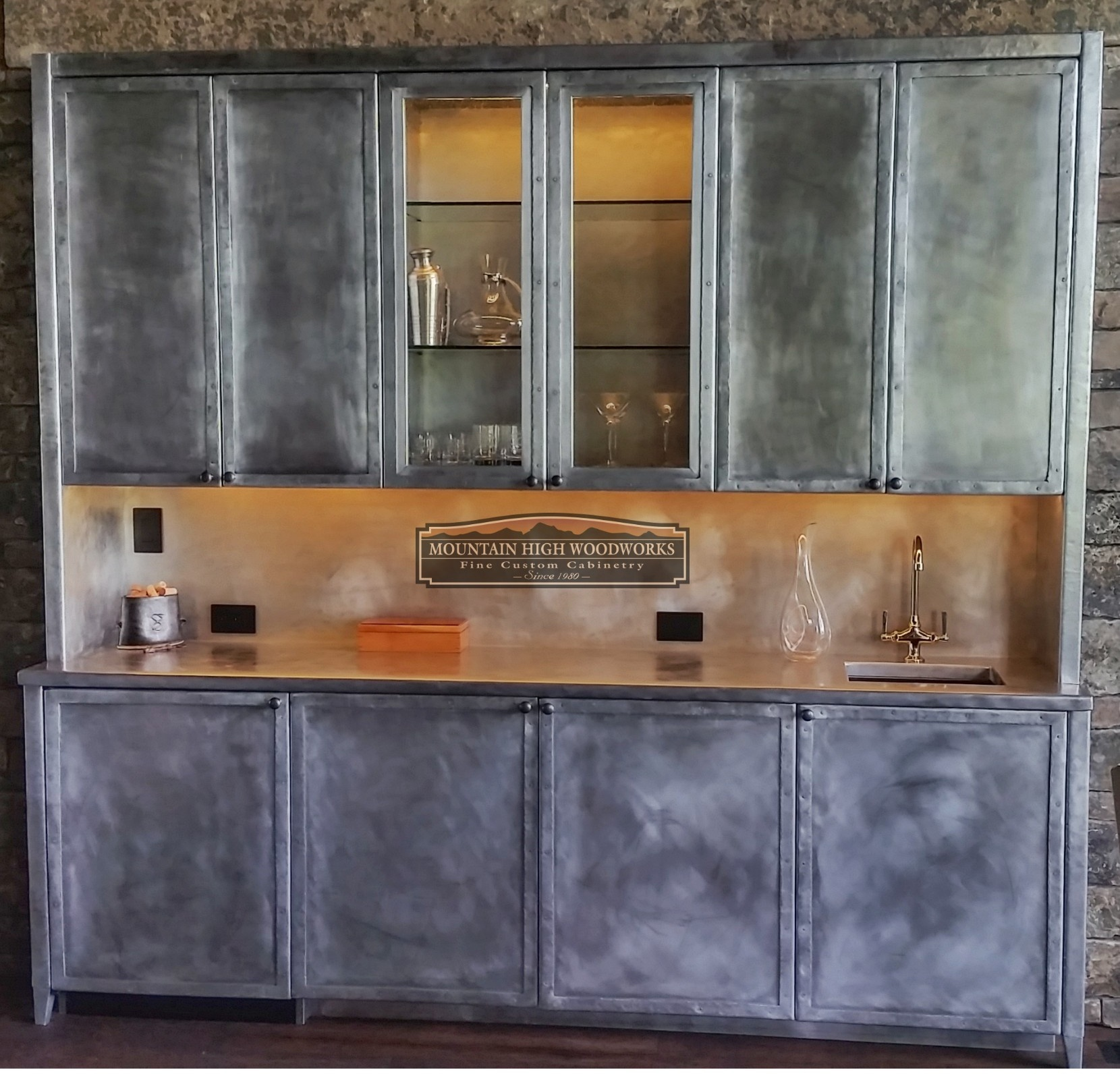 Custom Contemporary Cabinets