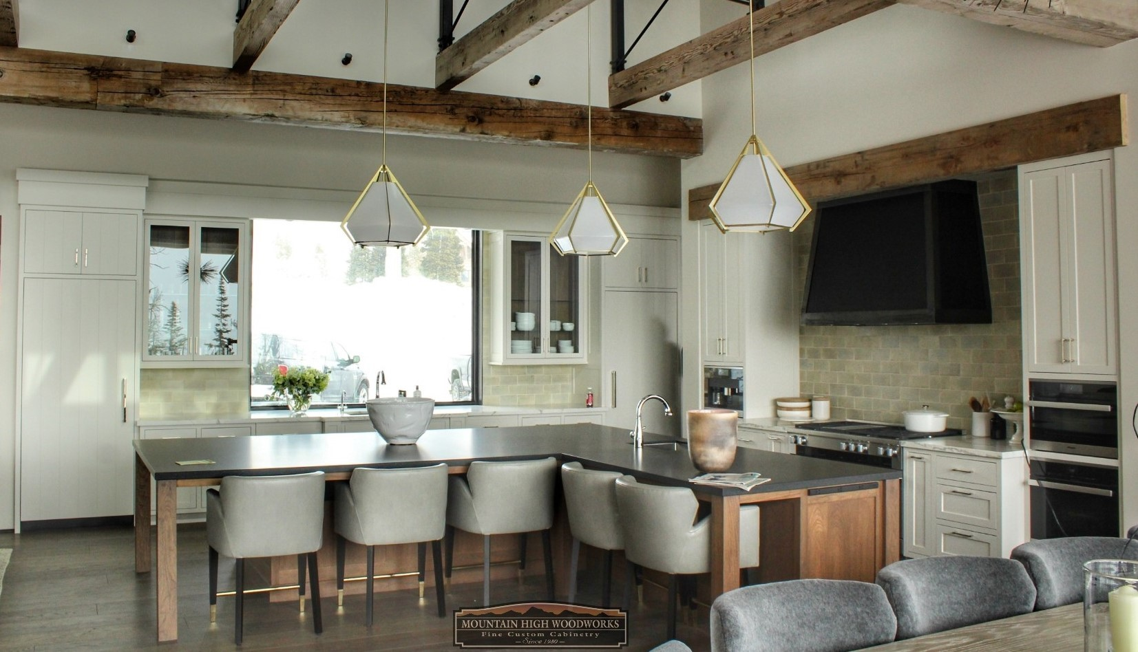 Custom Contemporary Kitchen Cabinets