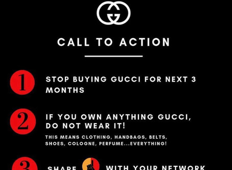 Call to Action (Gucci, Prada & Moncler)