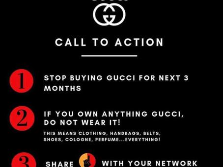 Call to Action (Gucci, Prada & Moncler)