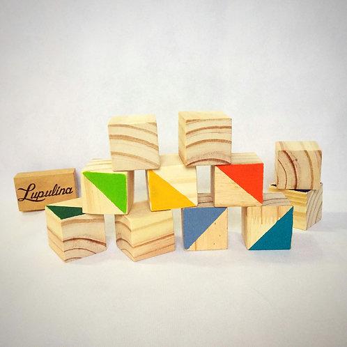 Cubos apilables x 20 unid.