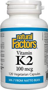 Natural Factors Vitamin K