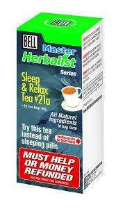 Sleep and Relax Tea