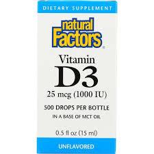 Natural Factors Vitamin D