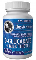 D-Glucarate + Milk Thistle