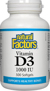 Vitamin D 1000IU